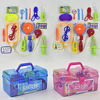 Детский игровой набор доктора 7613-3 в чемодане