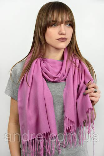 Турецкий шарф пашмина, пурпурный