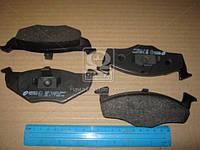 Колодка торм. SEAT IBIZA IV (6L1), SKODA FABIA (6Y2) передн. (пр-во REMSA) 0609.10