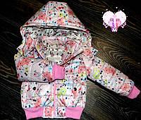 Весенне-осеняя курточка на синтепоне для девочки