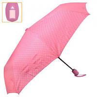 """Зонт складной """"Flora"""", полуавтомат, диаметр 55см, 8 спиц, полиэстер, женский зонт, зонтик-автомат, зонтик от дождя"""