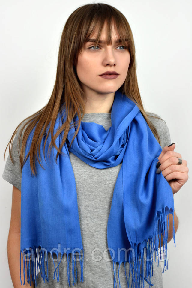 Турецкий шарф пашмина, джинс