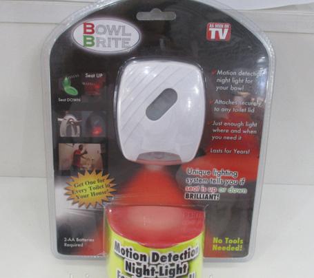 Подсветка для унитаза с датчиком движения Bowl Brite, фото 2