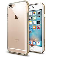 "Бампер SGP Neo Hybrid EX Metal Series для Apple iPhone 6/6s (4.7"") Золотой / Champagne Gold"