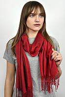 Турецкий шарф пашмина красный