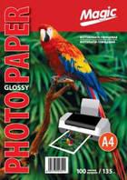 Фотобумага Magik Clossy Photo Paper А4 глянцевая 135 гр 100 листов