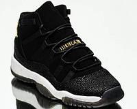 Мужские баскетбольные кроссовки Air Jordan 11 PRM Heiress Black Stingray