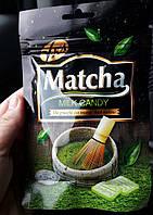 Цукерки зі смаком зеленого чаю з молоком Matcha Milk Candy 25г. (Малайзія)