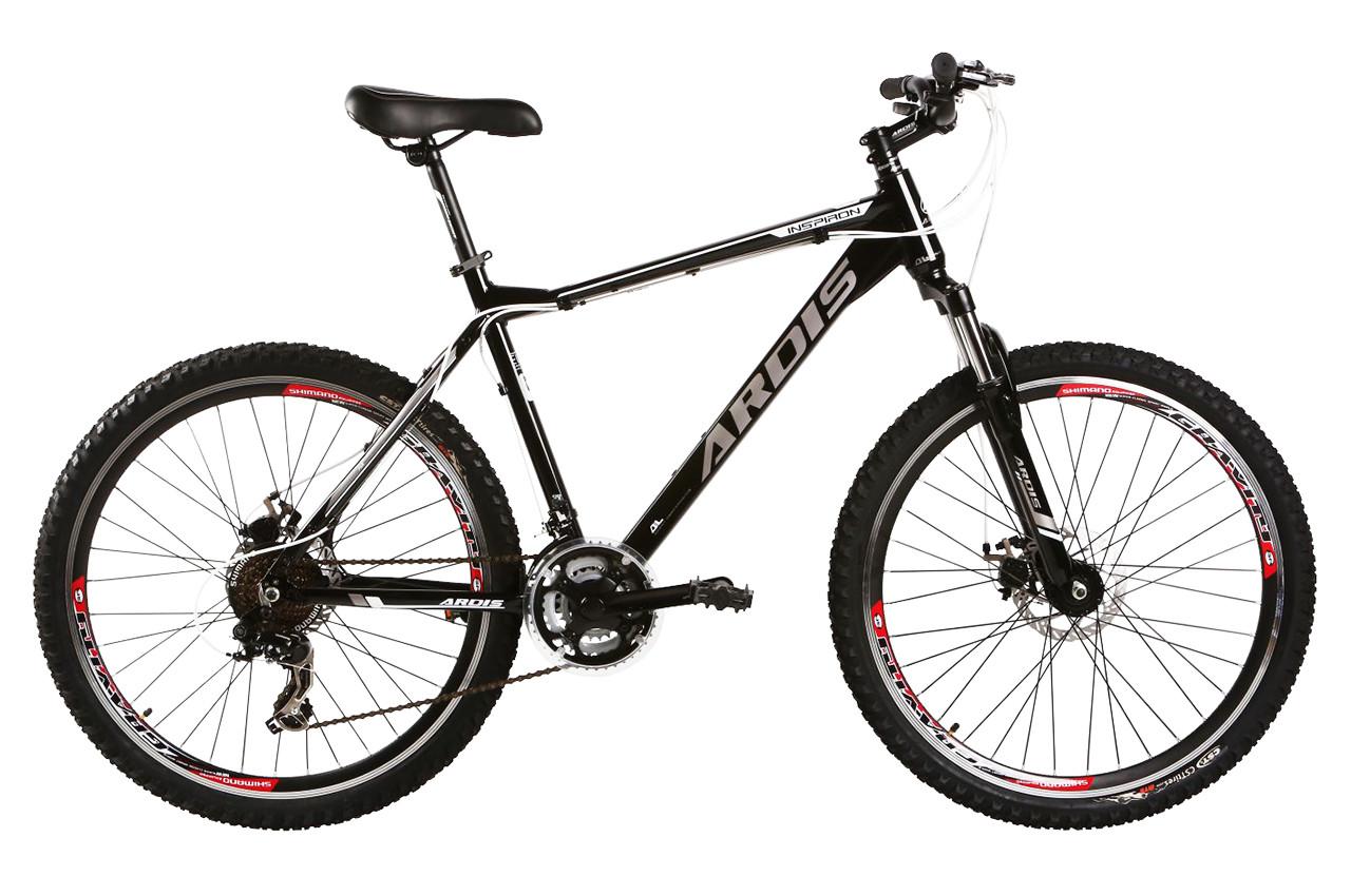 """Горный велосипед ARDIS INSPIRON 26"""" 19""""  Черный / Серый"""