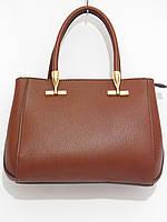 Деловая женская сумка цвет шоколад, фото 1