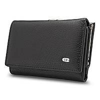 Женский кожаный кошелек ST617 black, фото 1