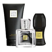 Женский парфюмерный набор 3в1  Little Black Dress. Цветочно-восточный аромат