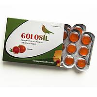Леденцы GOLOSIL апельсин (2 блистера - 24 шт.)