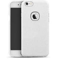 """Силиконовая накладка iPaky с имитацией кожи для Apple iPhone 6/6s (4.7"""") Белый"""