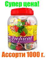 """Цукерки """"New Choice"""" асорті фруктове желе з соком і шматочками фруктів,асорті 1000г (В'єтнам)"""