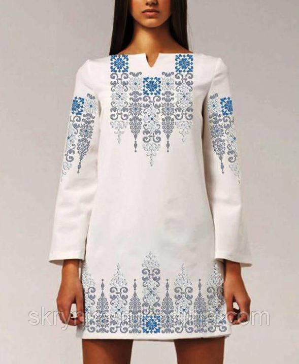 9d63381e1ac Заготовка для вишивки жіночого плаття бісером або нитками