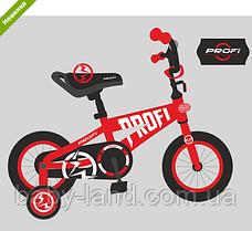 Велосипед дитячий двоколісний 14 дюймів Profi Flash T14171 червоний