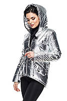 Демисезонная  женская стеганная куртка, размер 44-54