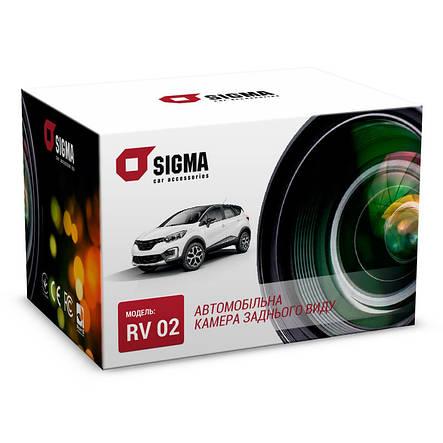 Автомобільна камера заднього виду SIGMA RV 02, фото 2