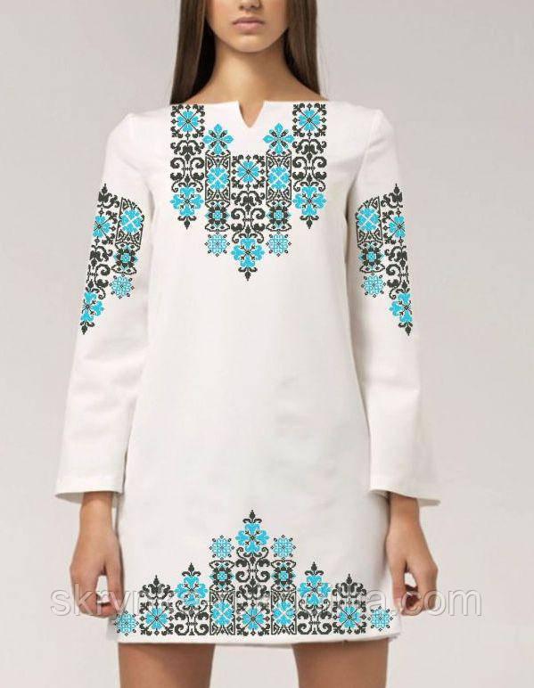 c52fcd93570174 Заготовка для вишивки жіночого плаття бісером або нитками