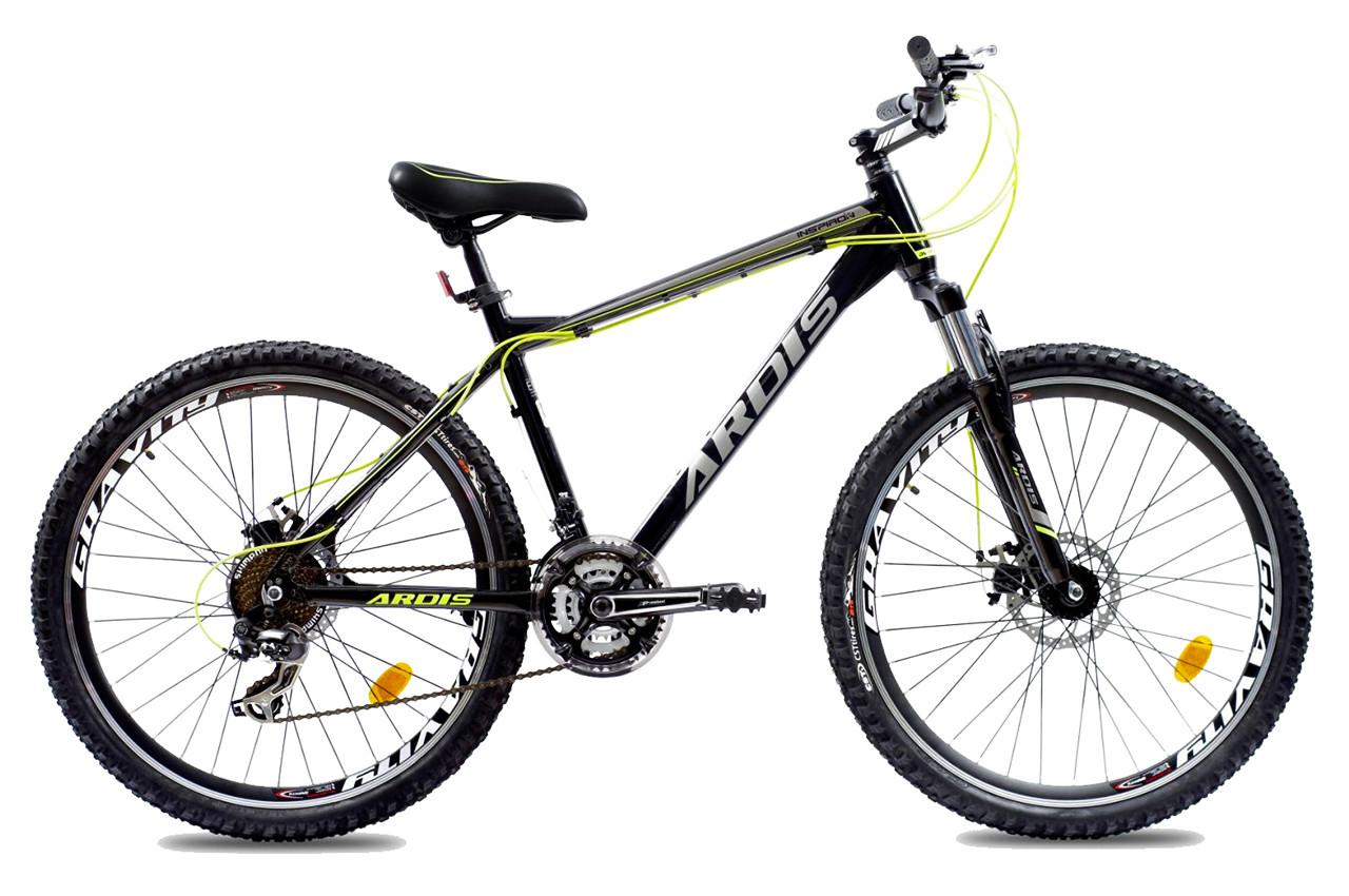 """Горный велосипед ARDIS INSPIRON  26"""" 17"""" Черный/Зеленый"""