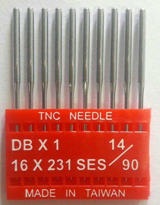 """Иглы для промышленных швейных машин """"Триумф""""DBх1 SES №90/14 (уп.10шт)"""