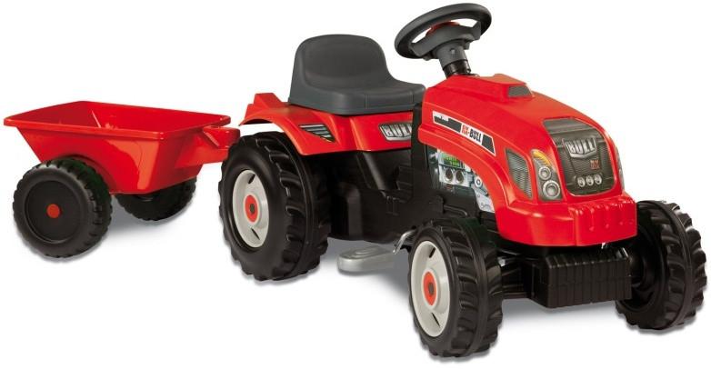 Трактор на педалях Smoby GM Bull RED