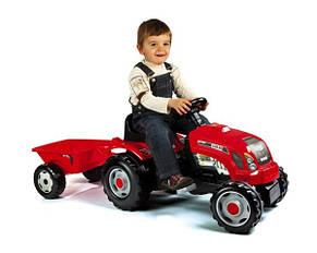 Трактор на педалях Smoby GM Bull RED, фото 2