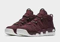Мужские кроссовки Nike Air More Uptempo Bordeaux , фото 1