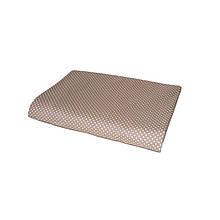 Простынь Коричневый горох 145х215 см