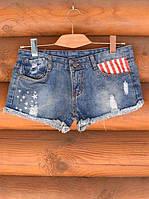 """Джинсовые шорты """"America"""". , фото 1"""