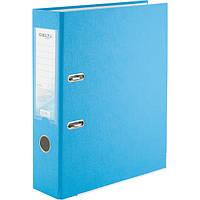 Папка-регистратор одностор. PP 7,5 см, собранная, светло-голубая