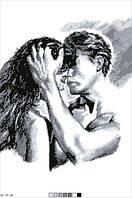 Картинка на канве А-3  Любовь-1