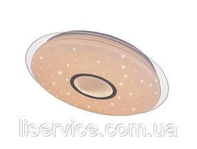 LED светильник Smart Light круг с пультом, 60W, 220V, диммируемый 4000K - 3000K - 6500К