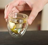 Скляні стакани з подвійними стінками Bodum Pavina 80 мл (ОРИГІНАЛ) 2 шт, фото 1