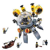 Конструктор Lepin «Летающая подводная лодка (Серия Ninjsaga)»  368 дет.