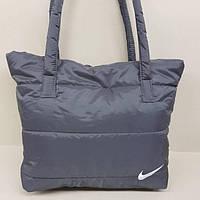 Стильная сумка пуховик Nike (реплика)