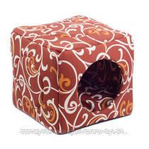 Домик «Кубик» для котов и кошек Природа™