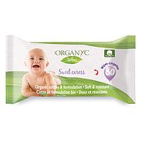 Детские органические влажные салфетки Corman