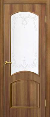 Дверное полотно ПВХ Адель с контурным рисунком