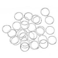 Соединительные колечки (кольца) Серебряные 7 мм 100 грамм/1385 штук