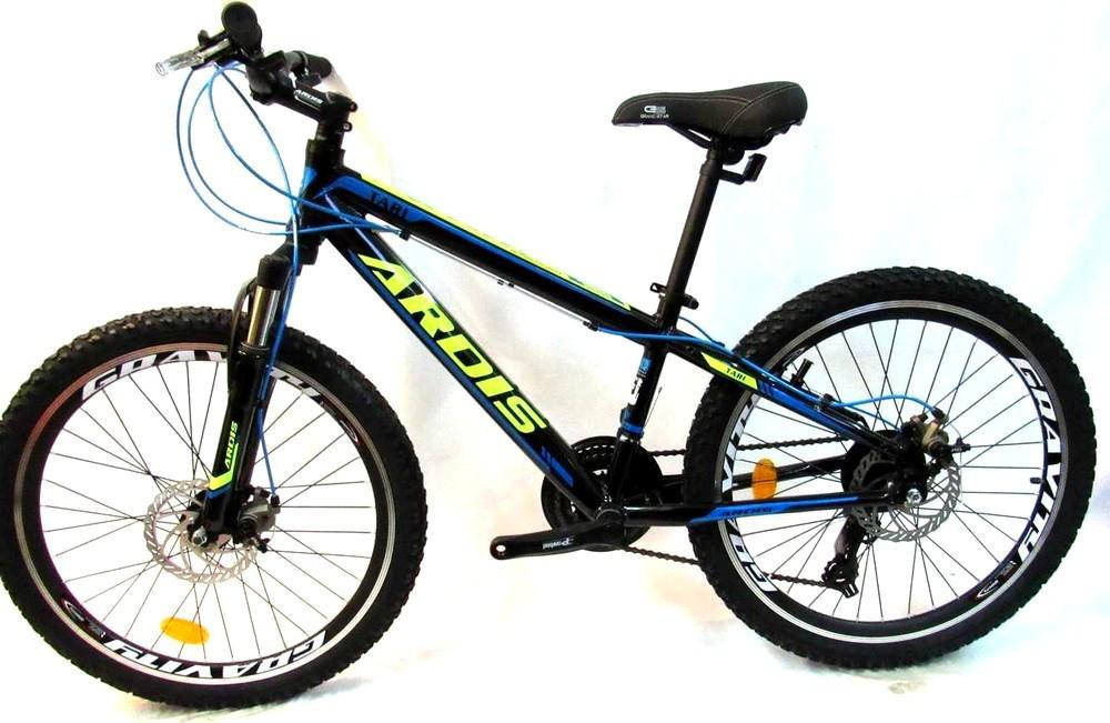 """Подростковый велосипед ARDIS TARI 24"""" 13""""  Черный/Синий"""