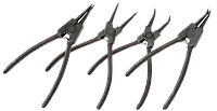 Щипцы для снятия стопорных колец изогнутыена разжим 150 мм Htools 32K305