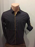 Модная рубашка для мужчины S,XL