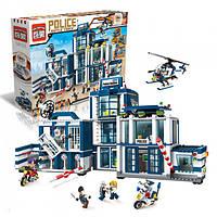 """Конструктор  """"Полицейский участок"""" Riot Police Office из серии """"Полиция"""" от компании Brick, 951 деталей"""