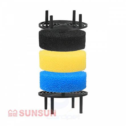 Среднепористая губка до зовнішнього фільтру Sunsun HW-603 A/B, фото 2