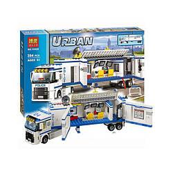 """Конструктор Bela Urban 10420 (аналог Lego City 60044) """"Мобильный отряд полиции"""", 394 дет"""