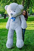 Большой плюшевый мишка 200см серый (Украина)