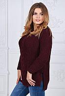 Женский свитер вязка(ботал)