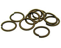 З'єднувальні кільця (кільця) Бронзові 10 мм 100 грам/900 шт